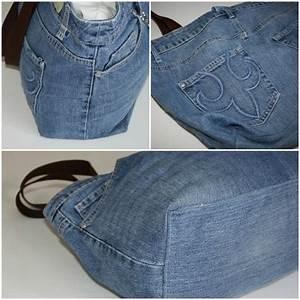 Nähen Aus Alten Jeans : upcyclingprojekt einkaufstasche aus alten jeans einkaufstasche recycling jeans ~ Frokenaadalensverden.com Haus und Dekorationen