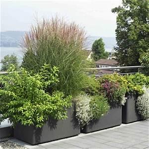Jardiniere delta rectangle jardinchic for Brise vue avec jardiniere 4 jardiniare delta rectangle jardinchic