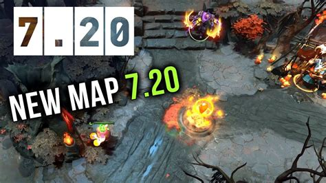 dota 2 new 7 20 patch map changes reworked youtube