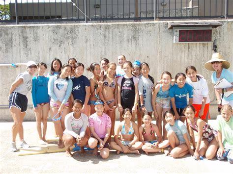 coolens   girls pe  grade swim meet