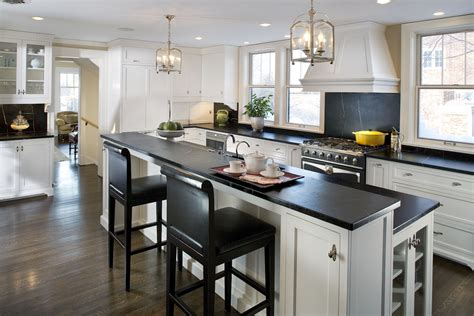 Soapstone Island Countertop by The 411 On Soapstone Countertops