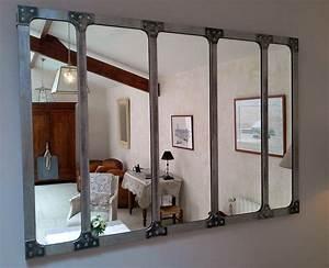 miroir style industriel meilleures images d39inspiration With superb meuble style maison du monde 15 miroir de style industriel design