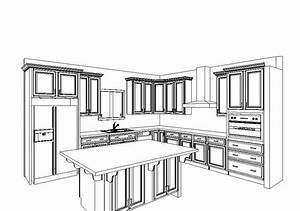 kitchen layout with double wall oven single wall With kitchendiagram