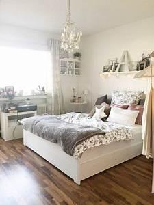 Meine Wohnung Einrichten : die besten 25 kleine schlafzimmer dekorieren ideen auf pinterest wohnung schlafzimmer ~ Markanthonyermac.com Haus und Dekorationen