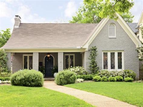 cozy painted brick abode exterior colors