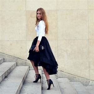 Outfits with Hi Low Skirts - 19 Ways to Wear Hi-Low Skirts