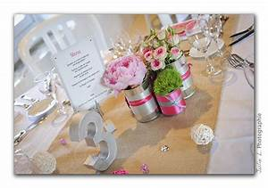 Mariage Theme Champetre : d co de mariage champ tre chic gris et rose mademoiselle ~ Melissatoandfro.com Idées de Décoration