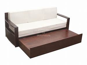Wooden sofa bed with storage wwwpixsharkcom images for Wooden sofa come bed design