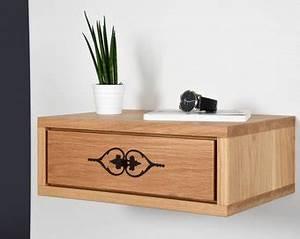 Console Murale Avec Tiroir : table de chevet murale avec tiroir dans antique en bois bois ~ Teatrodelosmanantiales.com Idées de Décoration