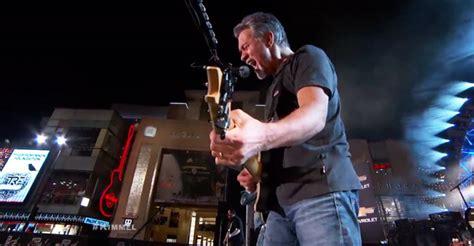 Halen News Desk 2011 by Halen Performs Unchained Ain T Talkin