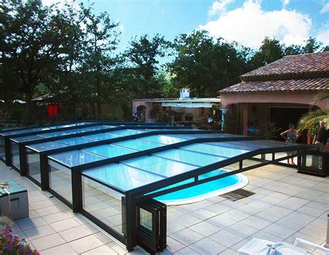 abri piscine sans rail abri piscine mi haut sans rail