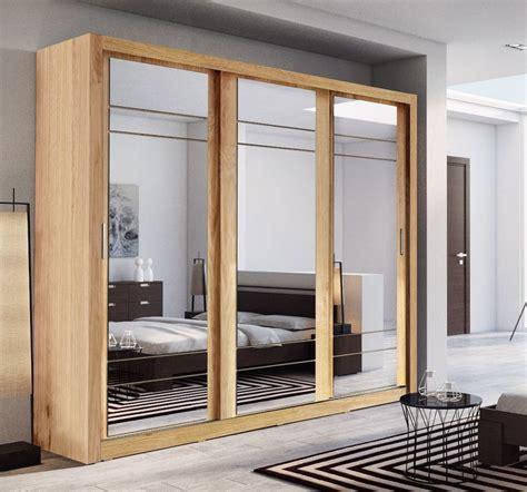 brand  modern bedroom sliding door mirror wardrobe arti