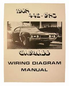 Wiring Diagram Manual  1968 Cutlass  442