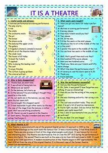 Esl Students It Is A Theatre Worksheet Free Esl Printable Worksheets