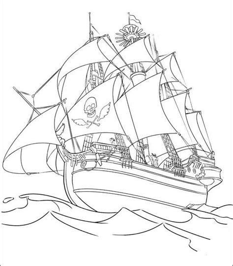 Dessin Bateau Corsaire by Coloriages De Pirates 224 Imprimer Galerie Photo Pirates
