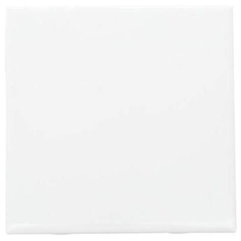 white 6x6 ceramic tile daltile semi gloss white 6 in x 6 in ceramic wall tile 12 5 sq ft case 0100661p4 the
