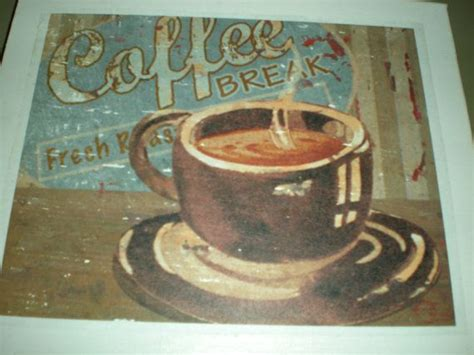 Depending on how busy they are, parking can be a bit tricky, but they do have a designated lot next to the building that helps. Vintage Coffee Canvas print Wall Art Canvas by ...
