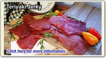 Jerky Teriyaki Wisconsin River Meats 1lb Landjaeger