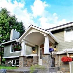 front porch designs for split level homes column details and base traditional exterior portland by designer 39 s edge kitchen