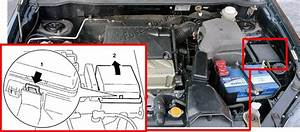 Fuse Box Diagram Mitsubishi Outlander  Cu  Ze  Zf  2003