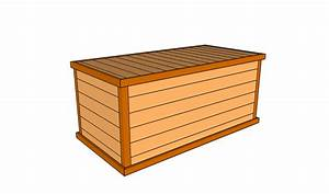 Deck Box Plans Free Outdoor Plans - DIY Shed, Wooden