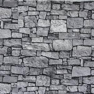 Wand Deko Stein : deko dekostoff steinwand 140 cm breit grau ~ Lizthompson.info Haus und Dekorationen