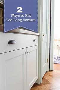 Two Way Fix : two ways to fix a screw that 39 s too long pretty handy girl ~ Orissabook.com Haus und Dekorationen