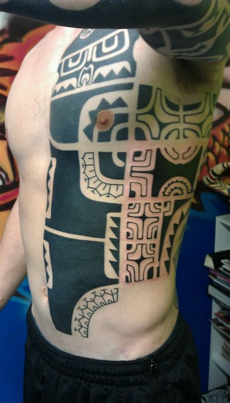 cool polynesian tattoo   body tattooimagesbiz