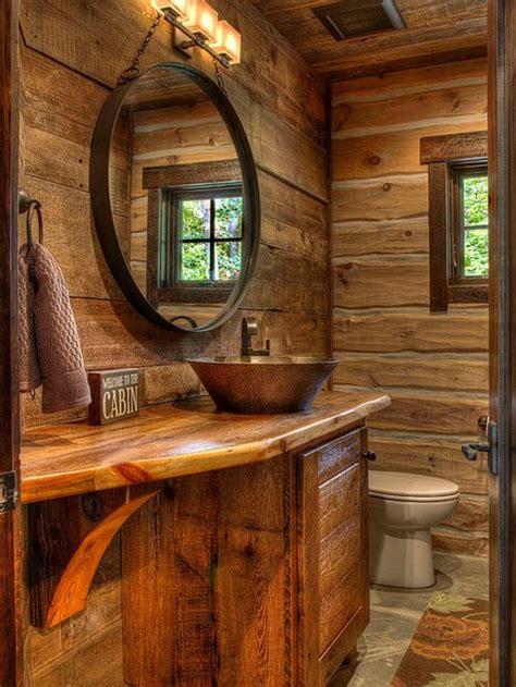 cabin bathrooms ideas cabin bathroom houzz