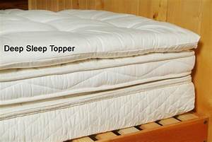 organic cotton wool quilted mattress topper soft With cal king pillow top mattress pad