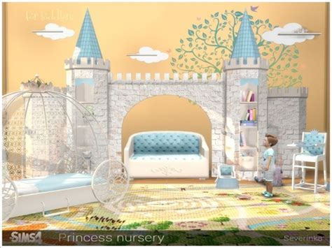 The Sims Resource: Princess Nursery by Severinka ? Sims 4