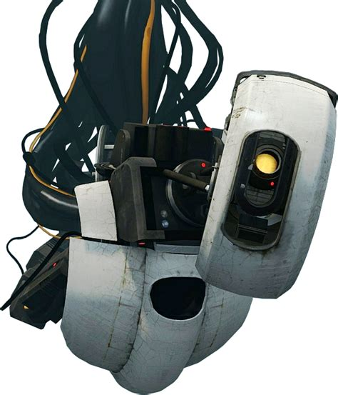 glados cutout by espionagedb7 on deviantart