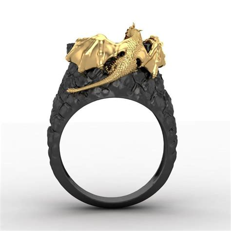 ring dragon tower  print model  images