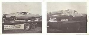 The 1970 Hamtramck Registry Mopars In Salvage Yards Misc ...