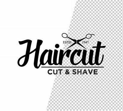Barber Psd Logos Templates Stylish Graphic Template