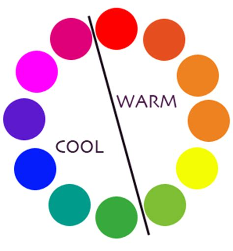 cool colors vs warm colors color theory warm vs cool