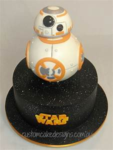 Bb8 Star Wars Cake - CakeCentral com