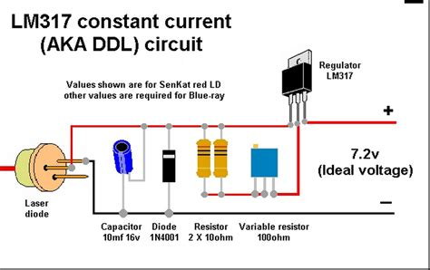 Building Laser Driver Circuit Electrical Engineering