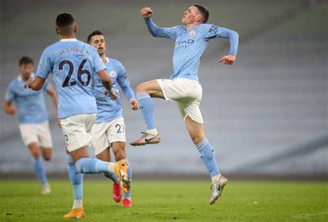 Premier League - Match Report for Manchester City vs ...
