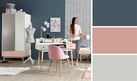 2 couleurs dans une chambre quelles couleurs accorder pour une chambre d ado tendance