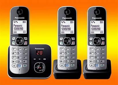 Kx Tam Panasonic Dect Triple Pack Phone