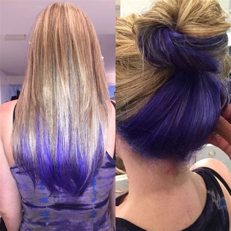 ideas  dyed hair   pinterest dyed