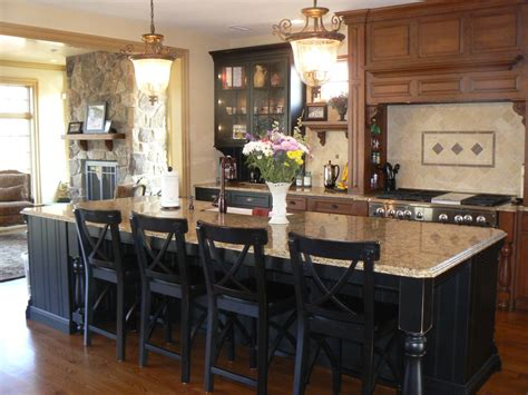 black kitchen island with seating sumptuous venetian gold granite vogue philadelphia