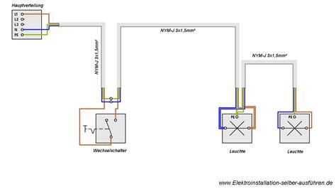 haus elektroinstallation selber machen hier finden sie den schaltplan einer ausschaltung anleitungen mit denen sie ihre