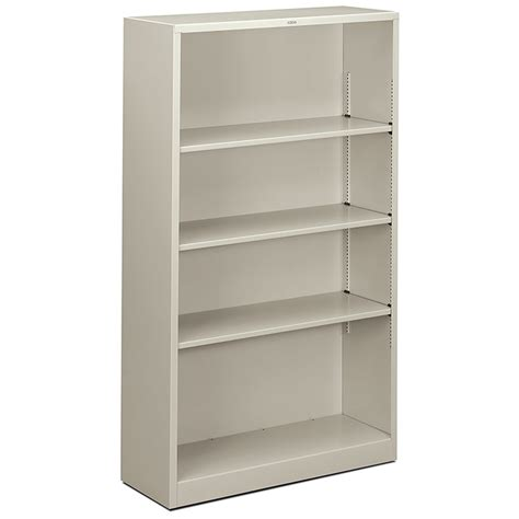 Steel Bookcase by 4 Shelf Steel Bookcase Arthur P O Hara