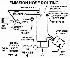 I Need The Diagram For The Vacuum Lines On A 1988 Buick
