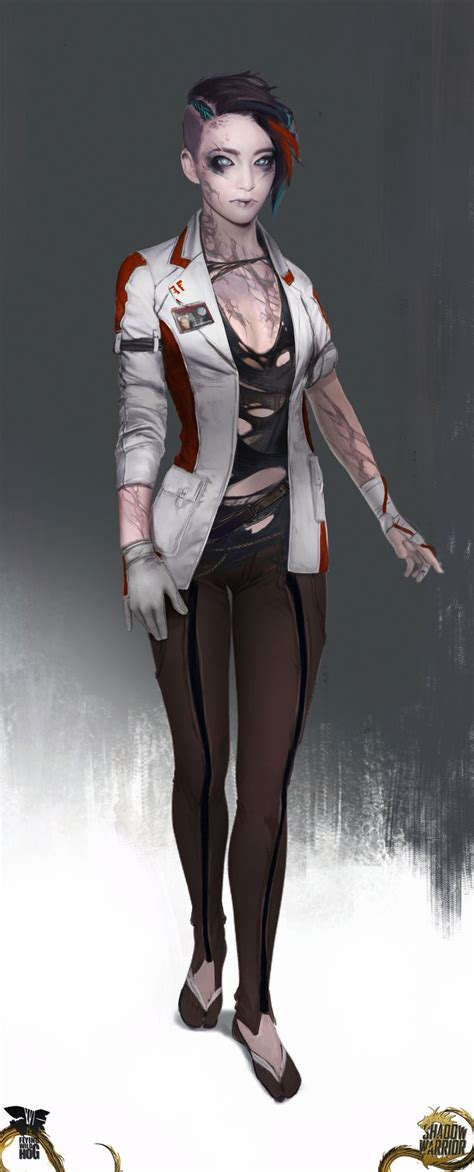 shadowrun characters images  pinterest
