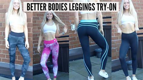 Better Bodies Leggings Try On & Review Youtube