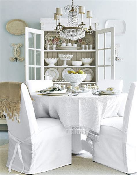 Shabby Chic Dining Room Design Ideas Interiorholiccom