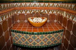 Mexican Tile - Bathroom - austin - by Clay Imports